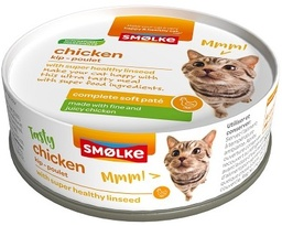 [GE2011] Smolke Chat - Soft Pate Chicken 24 x 80gr