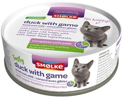 [GE2014] Smolke Chat - Soft Pate Duck with Game 24 x 80gr